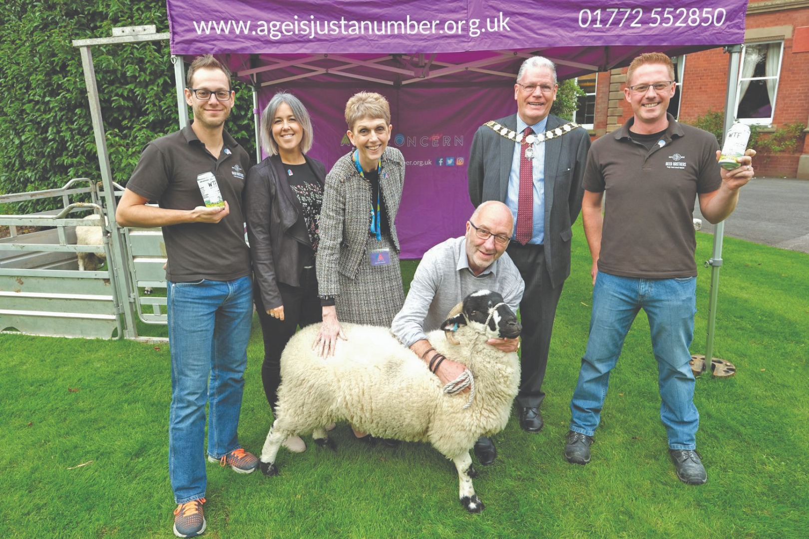 Age Concern gathers its flock