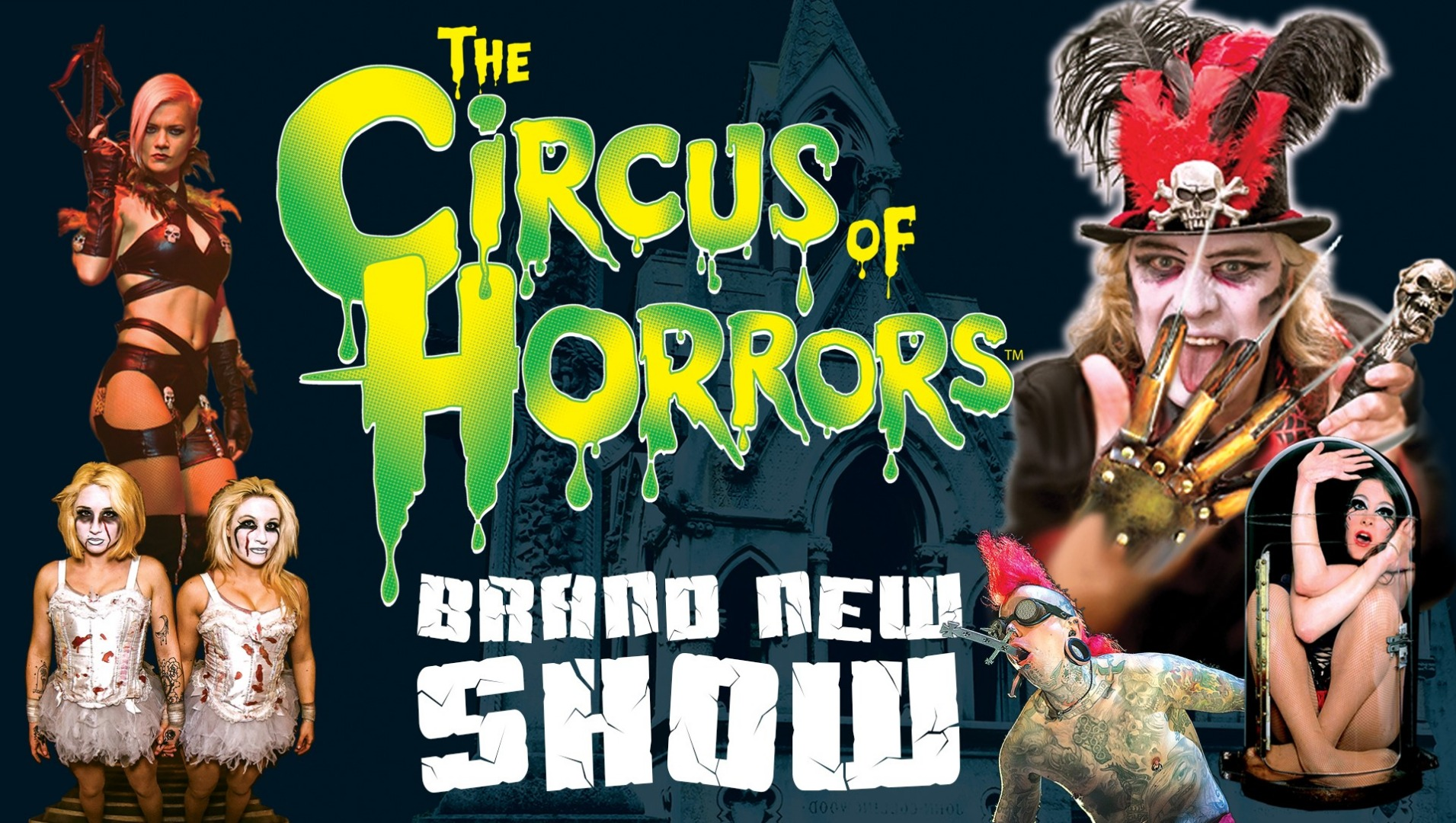 The Circus of Horrors Returns to Preston with a Brand New Show