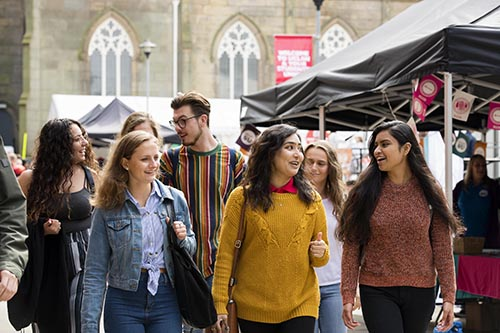 UCLan top of the league for investment in student wellbeing