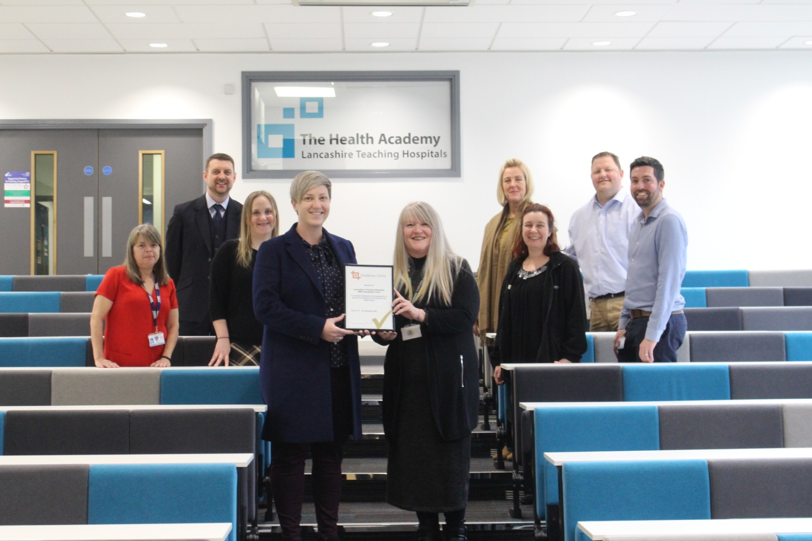 Trust awarded Excellence Centre status for education