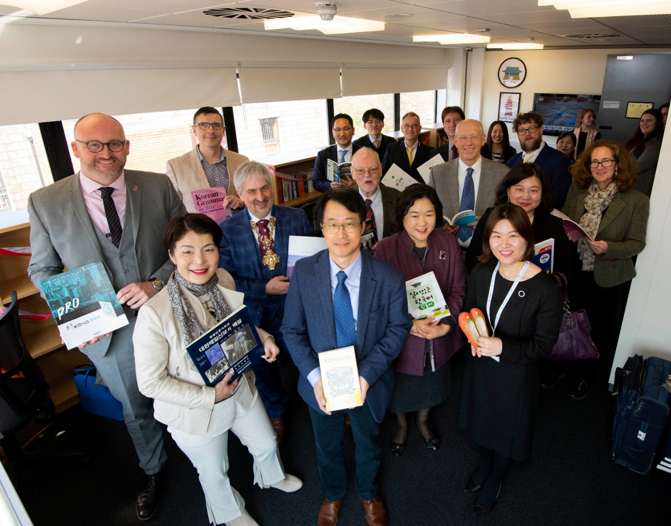 UCLan is first UK university to host a Korea Corner