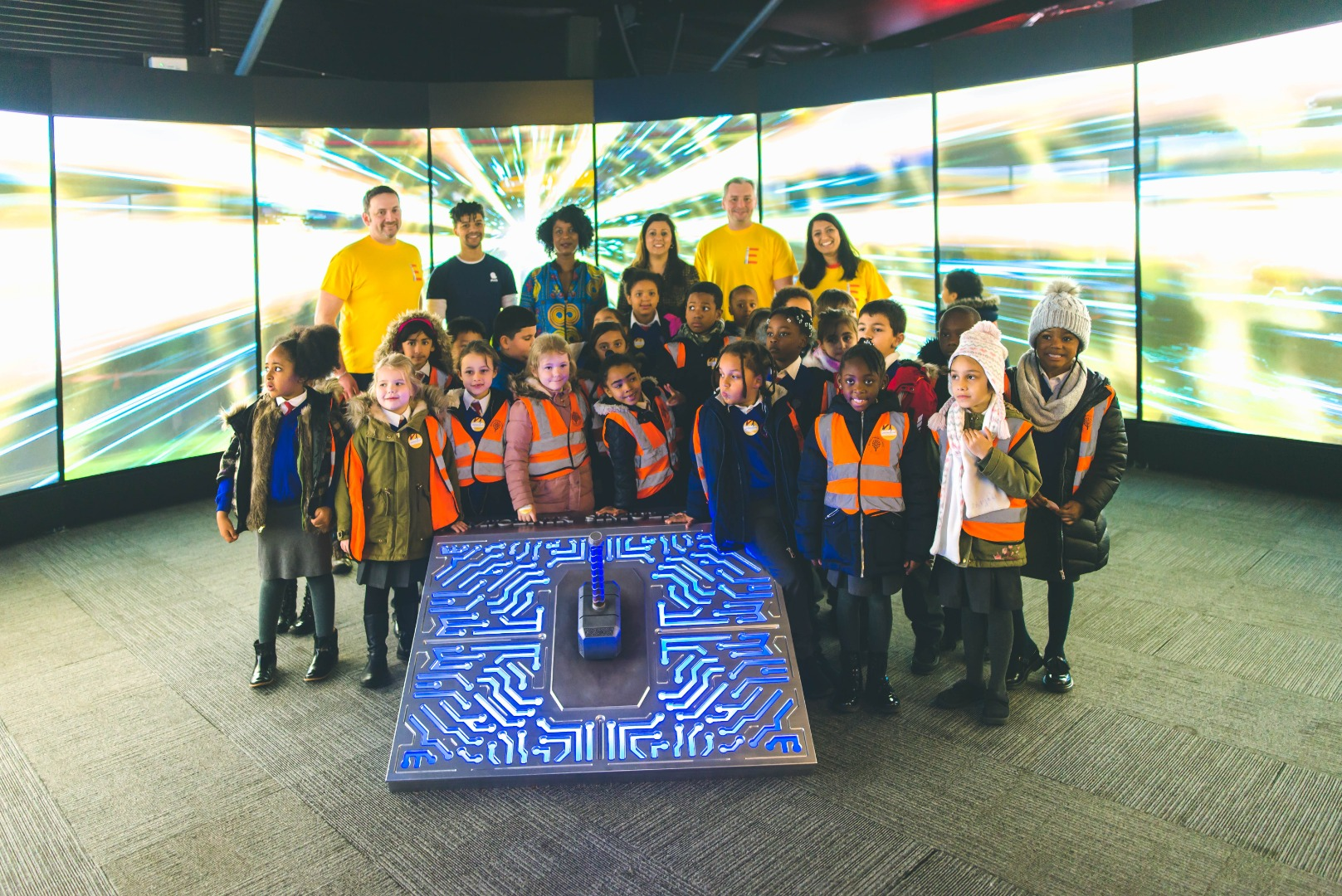 Youngsters inspired by UCLan's 'Engineering Avengers'
