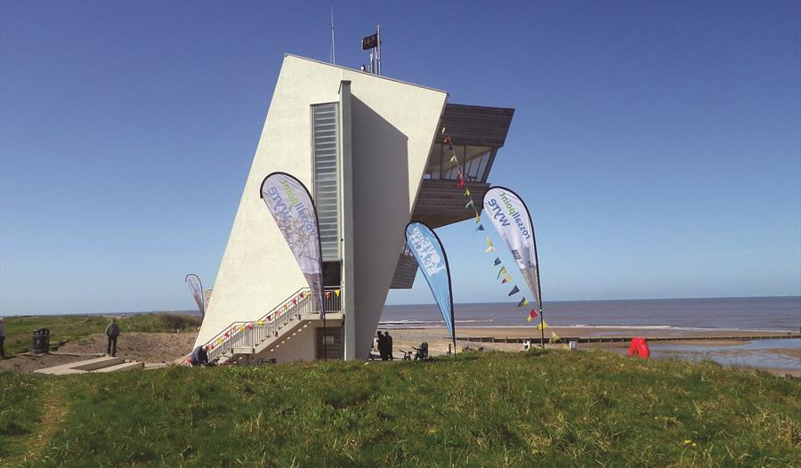 Rossall Point Tower Beach Clean