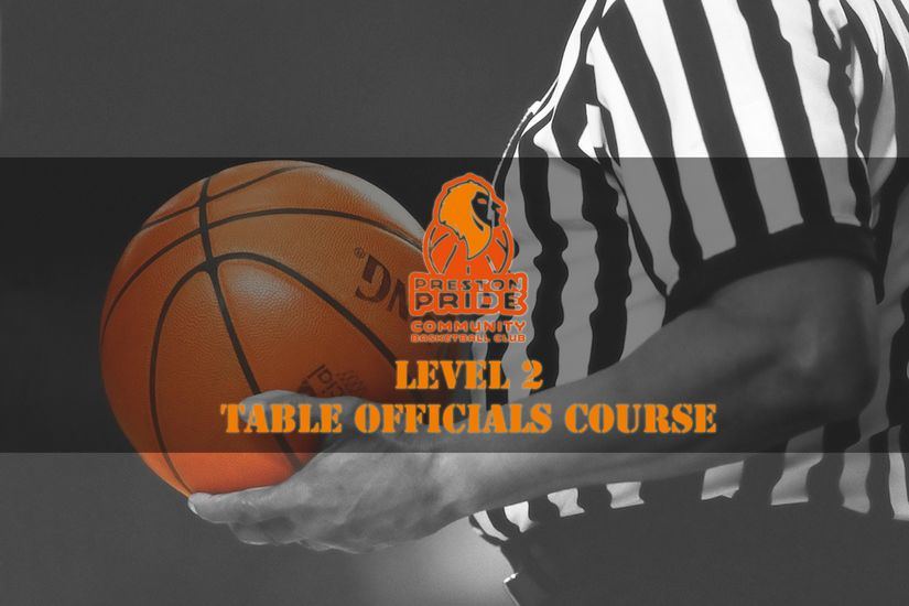 Level 2 Table Officials Course - 4th  April 2020