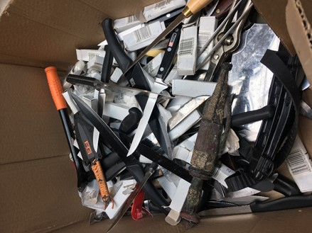 Knives taken off the streets